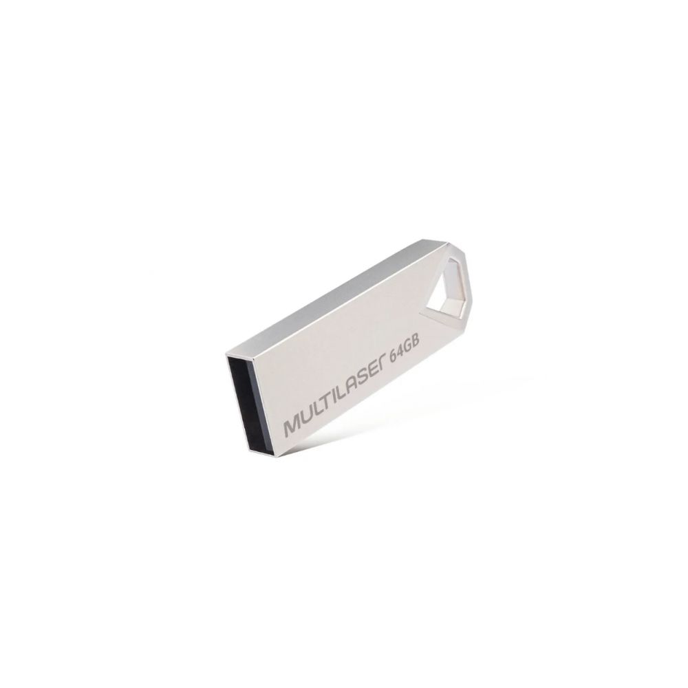 Pen Drive Diamond 64GB Metálico PD852 - Multilaser