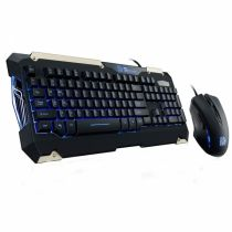 Kit Teclado + Mouse Commander KB-CMC-PLBLPB-0 - Thermaltake
