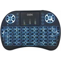 Mini Teclado Air Mouse com Touch Wireless CK103 - Oex