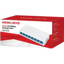 Switch de Mesa 8 Portas 10/100MBPS MS108 - Mercusys
