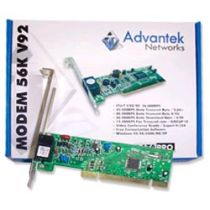Fax Modem 56K V92 PCI Advantek