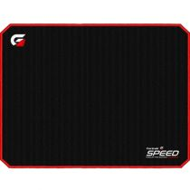 Mouse Pad Speed 320x240mm Preto com Borda Vermelha- Fortrek