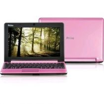 "Netbook LED 10"" com Intel Atom Dual Core 10D-R123LM 2GB 320GB Rosa Linux - Philc"
