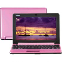 "Netbook Philco 10C2-R123LM com Intel Atom Dual Core 2GB 320GB LED 10"" Linux Rosa"