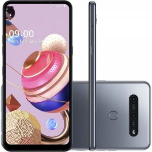 Smartphone K51S Android 9.0 Octa Core 64GB 4G Titânio - LG